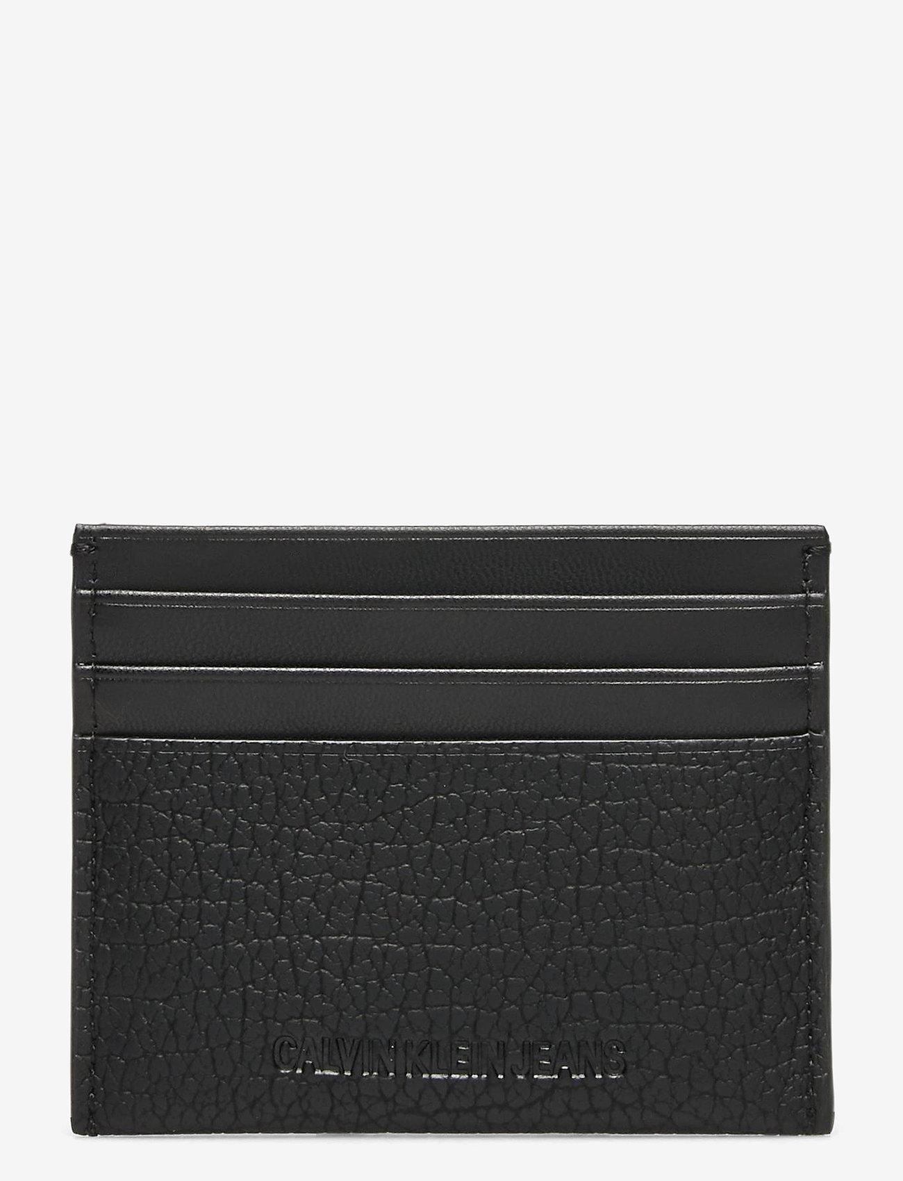 Calvin Klein - CARDCASE 6CC - kaart houders - black - 1