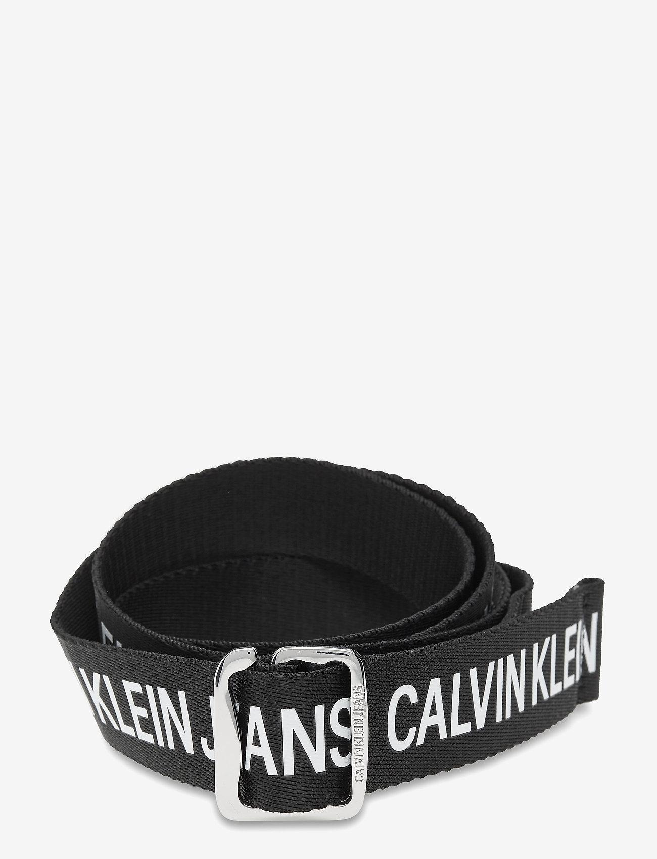 Calvin Klein - CKJ OFFDUTY TAPE 35MM - braided belts - black - 0