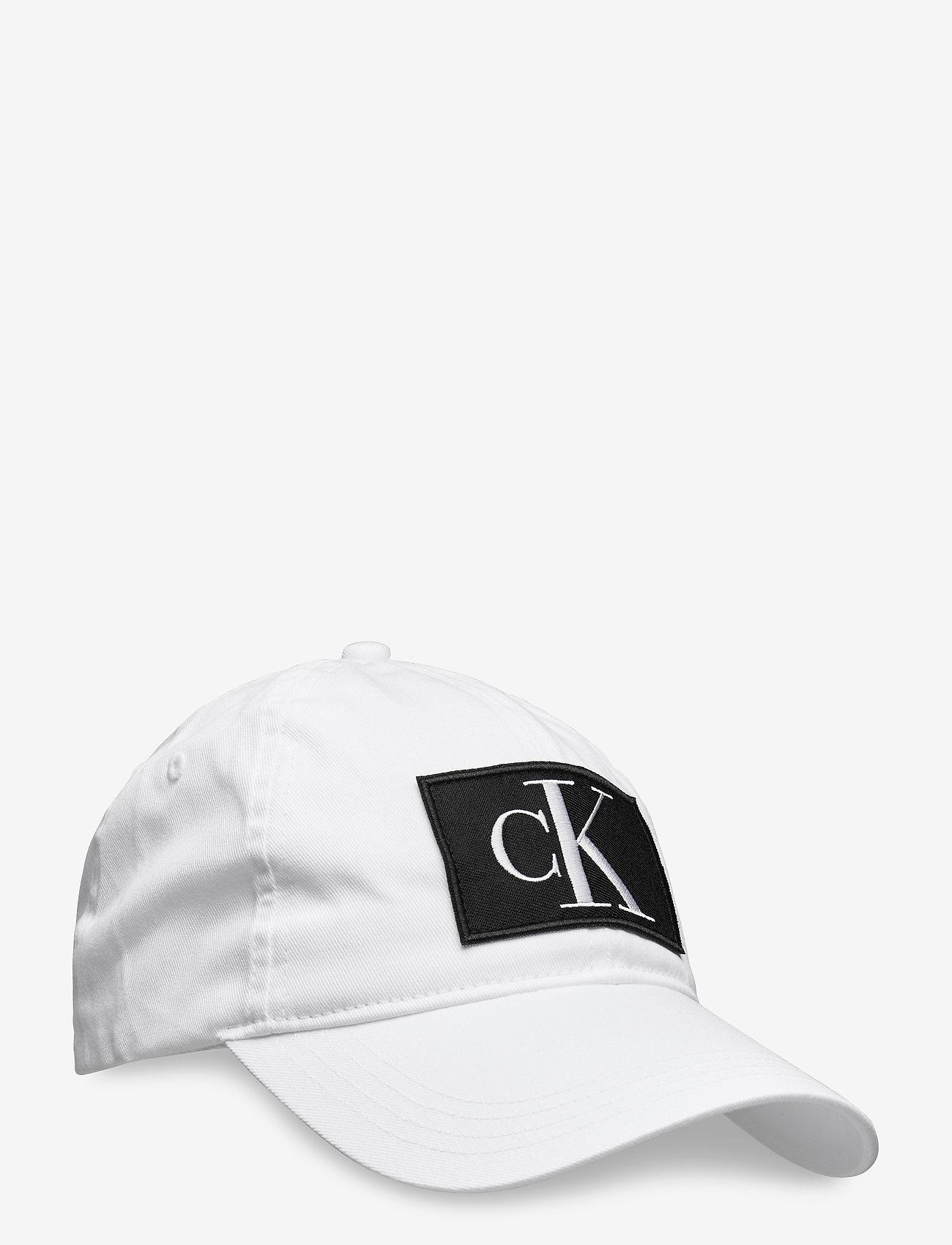 Calvin Klein - CKJ ESSENTIALS CAP - caps - bright white - 0