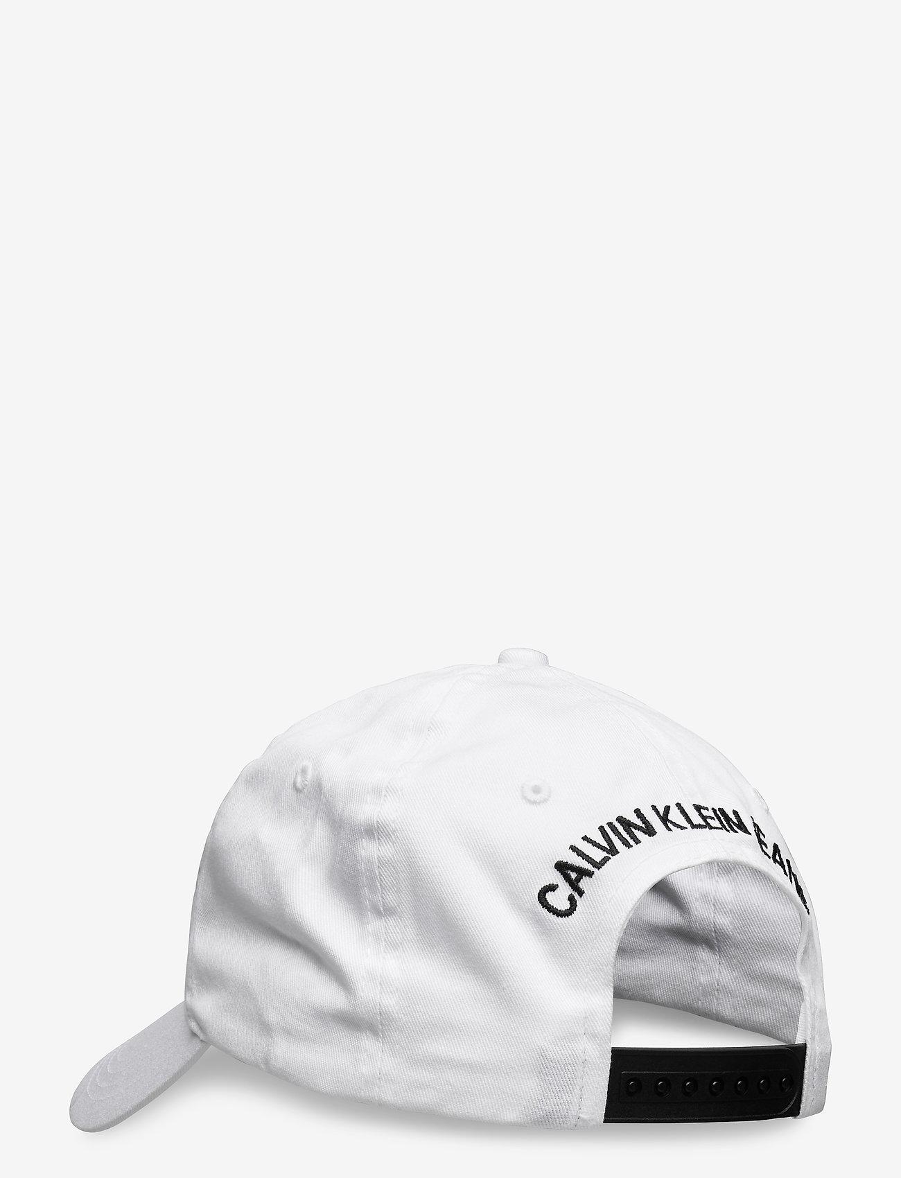 Calvin Klein - CKJ ESSENTIALS CAP - caps - bright white - 1