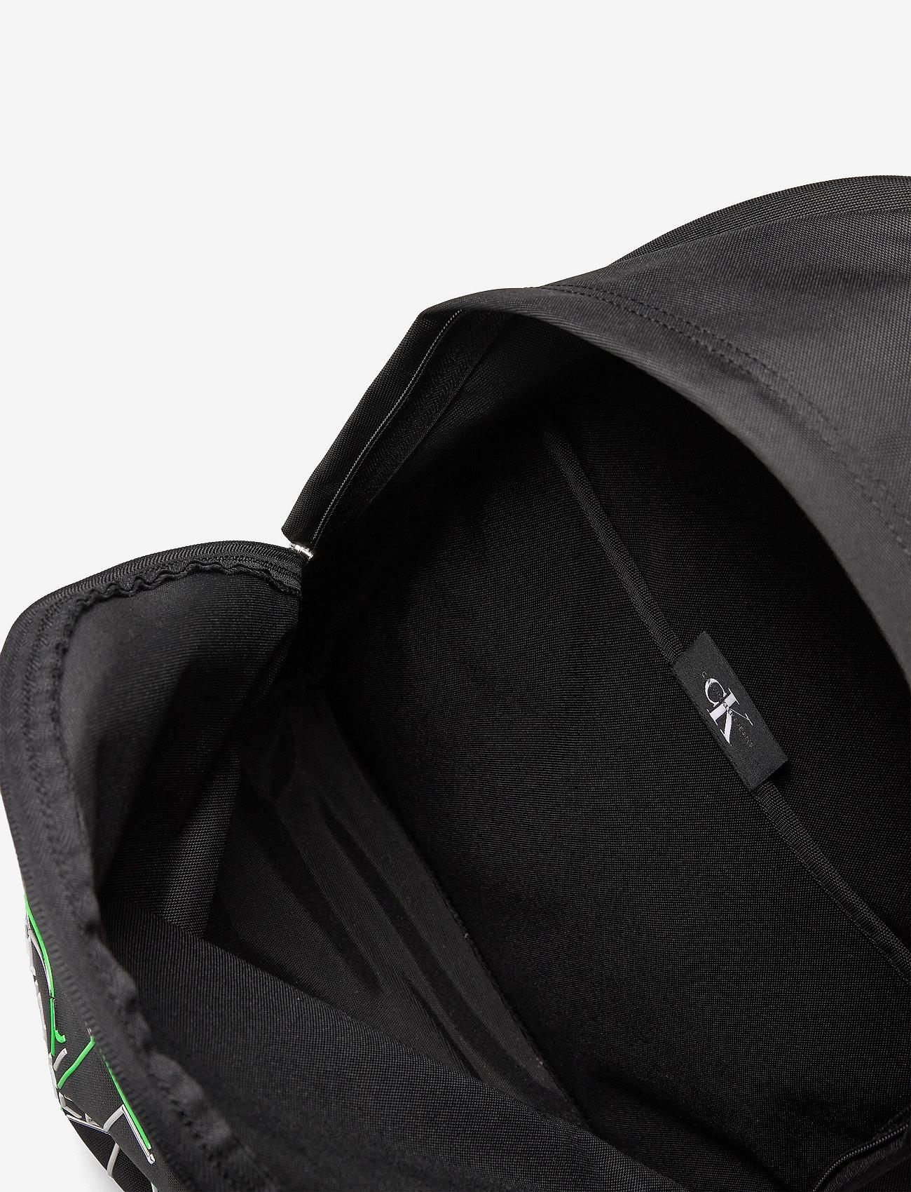 Calvin Klein - CAMPUS BP 43 GLOW - torby - black - 4