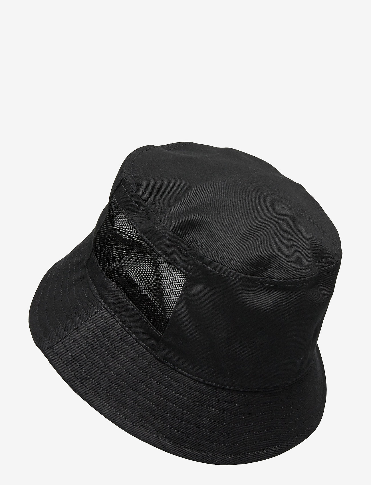 Calvin Klein - MESH MONO BUCKET - bucket hats - black - 1