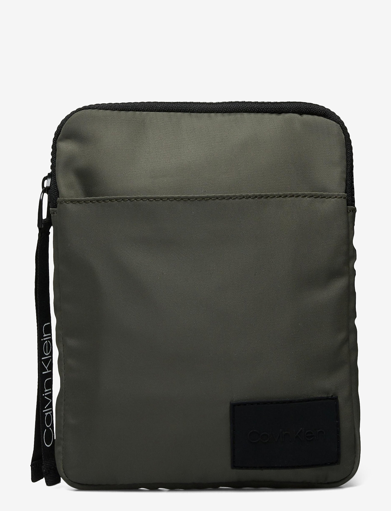 Calvin Klein - FLAT PACK S - shoulder bags - dark olive - 0