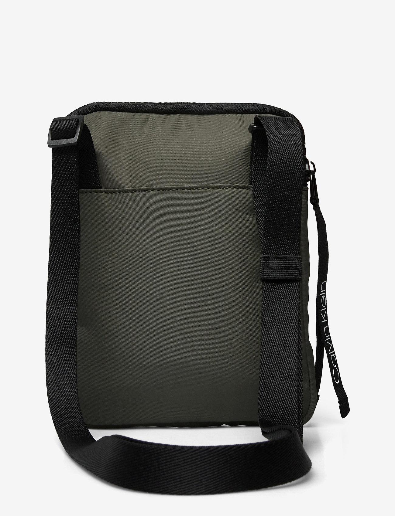 Calvin Klein - FLAT PACK S - shoulder bags - dark olive - 1