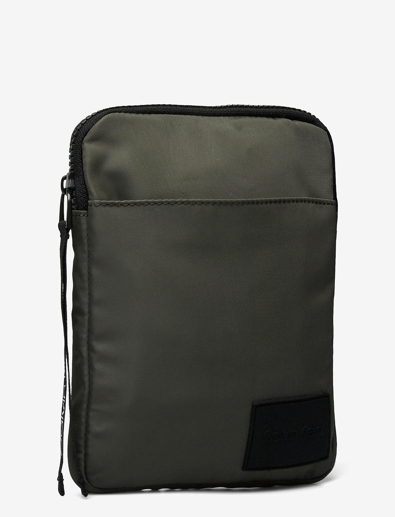 Calvin Klein - FLAT PACK S - shoulder bags - dark olive - 2