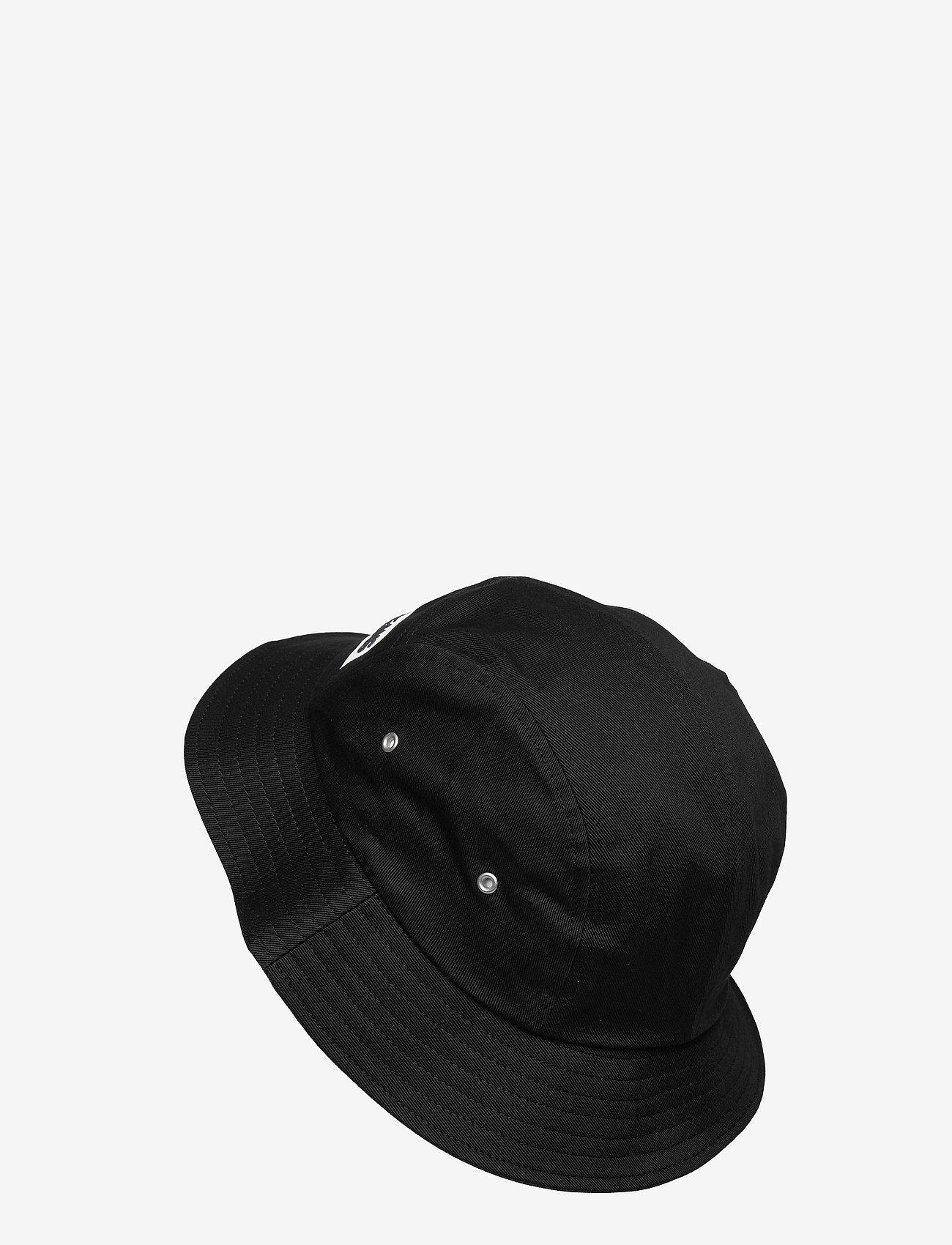 Calvin Klein - BUCKET INSTITUTIONAL - bucket hats - black - 1