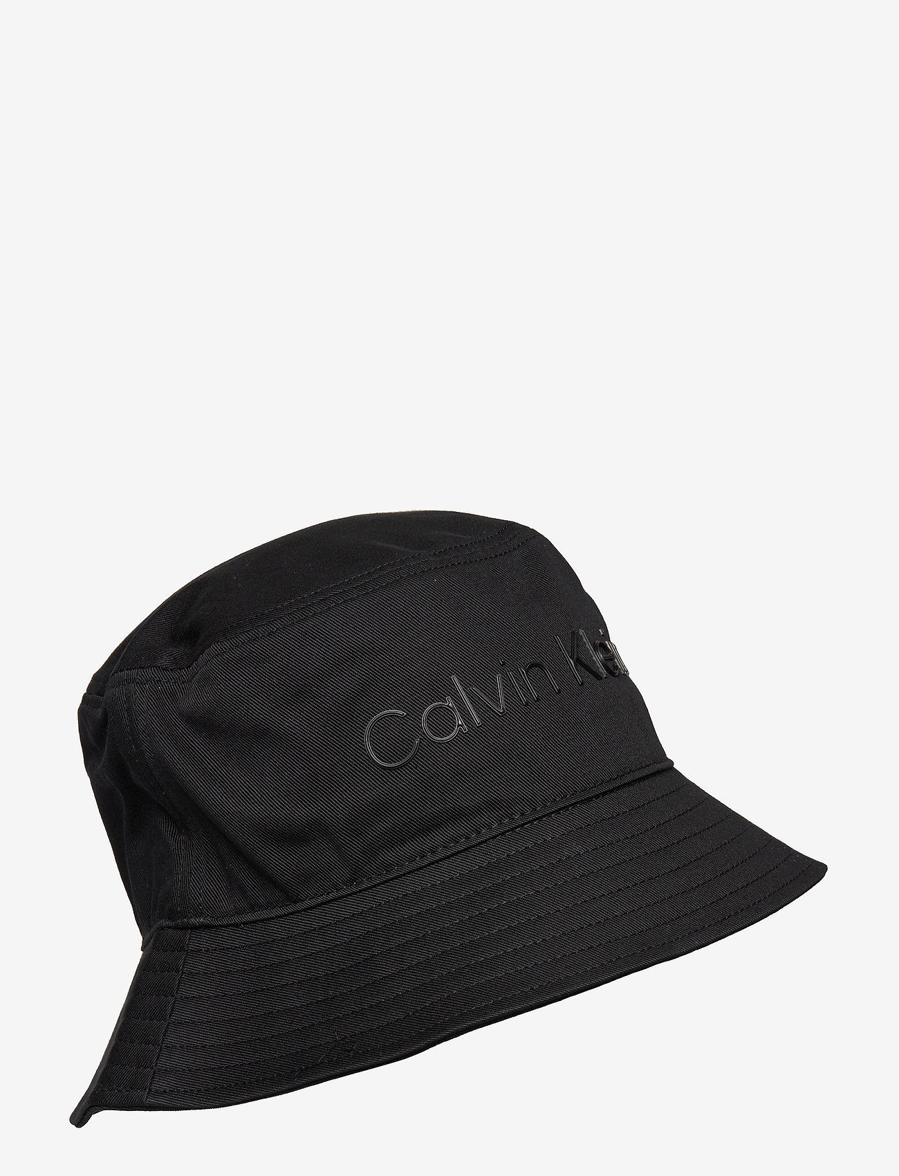 Calvin Klein - BUCKET HAT - bucket hats - ck black - 0