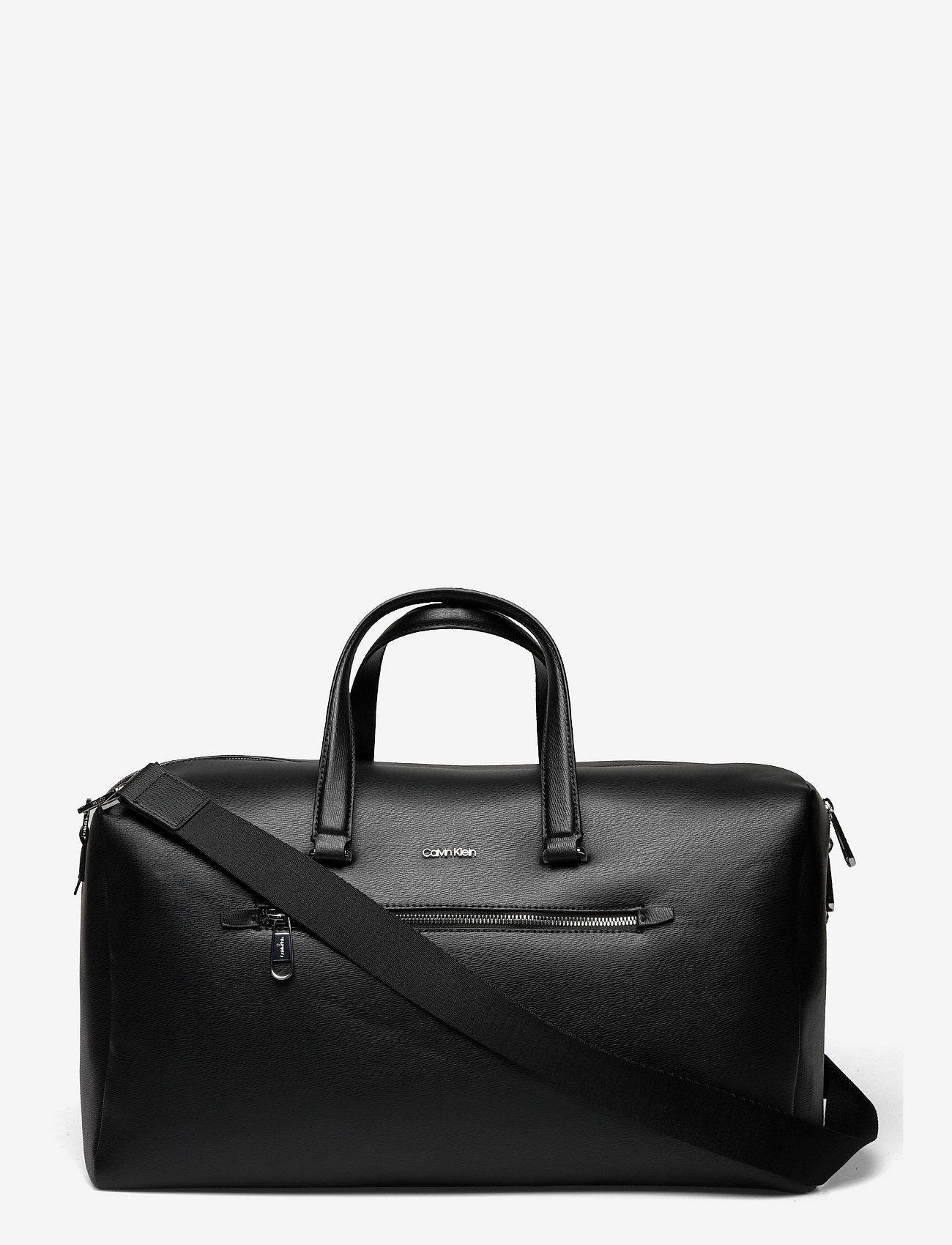 Calvin Klein - MINIMALISM WEEKENDER - gym bags - ck black - 0
