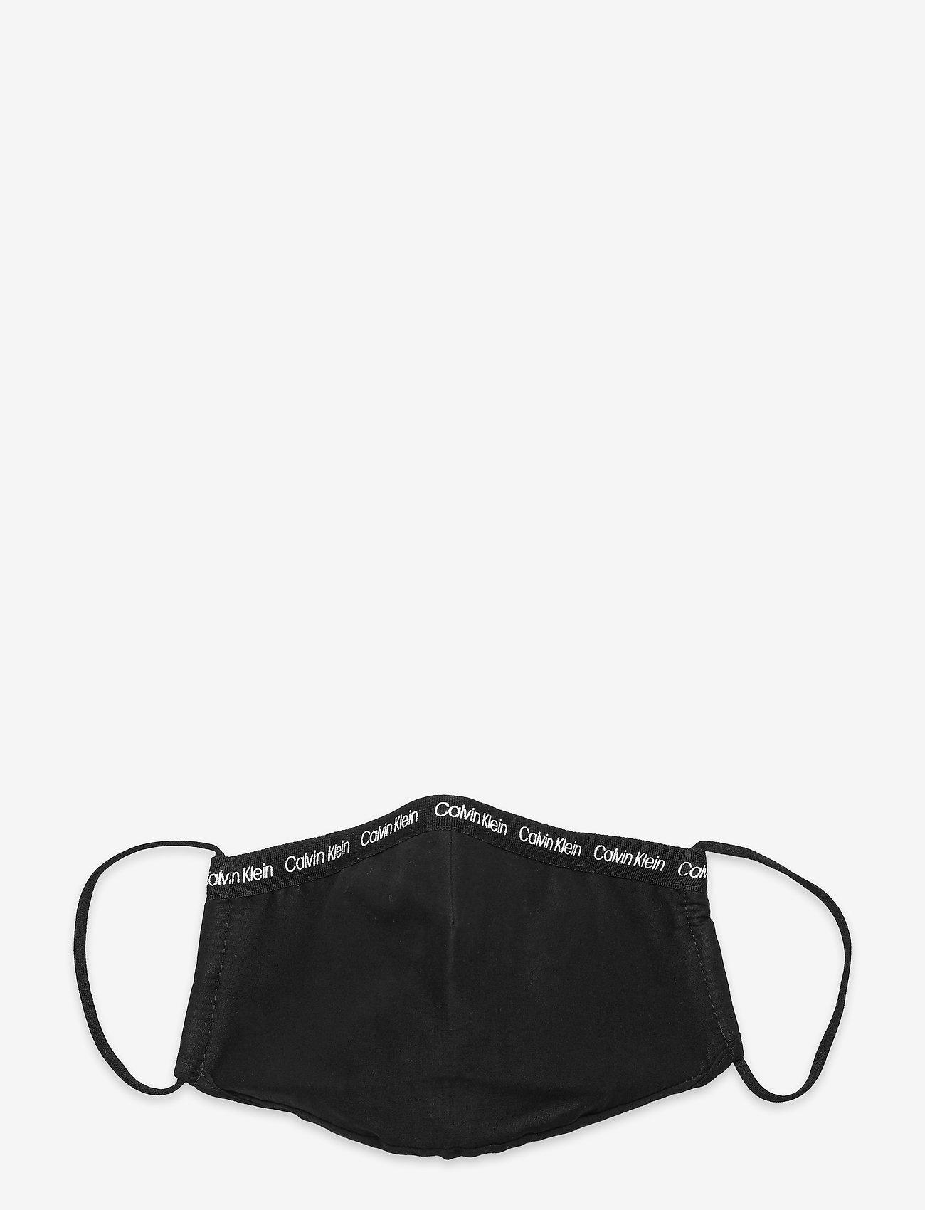 Calvin Klein - FACE COVER SINGLE - ansiktsmasker - ck black - 0
