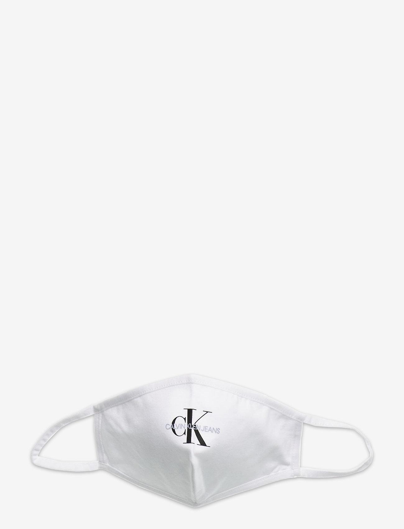 Calvin Klein - FACE COVER SINGLE MONO - ansiktsmasker - bright white - 0