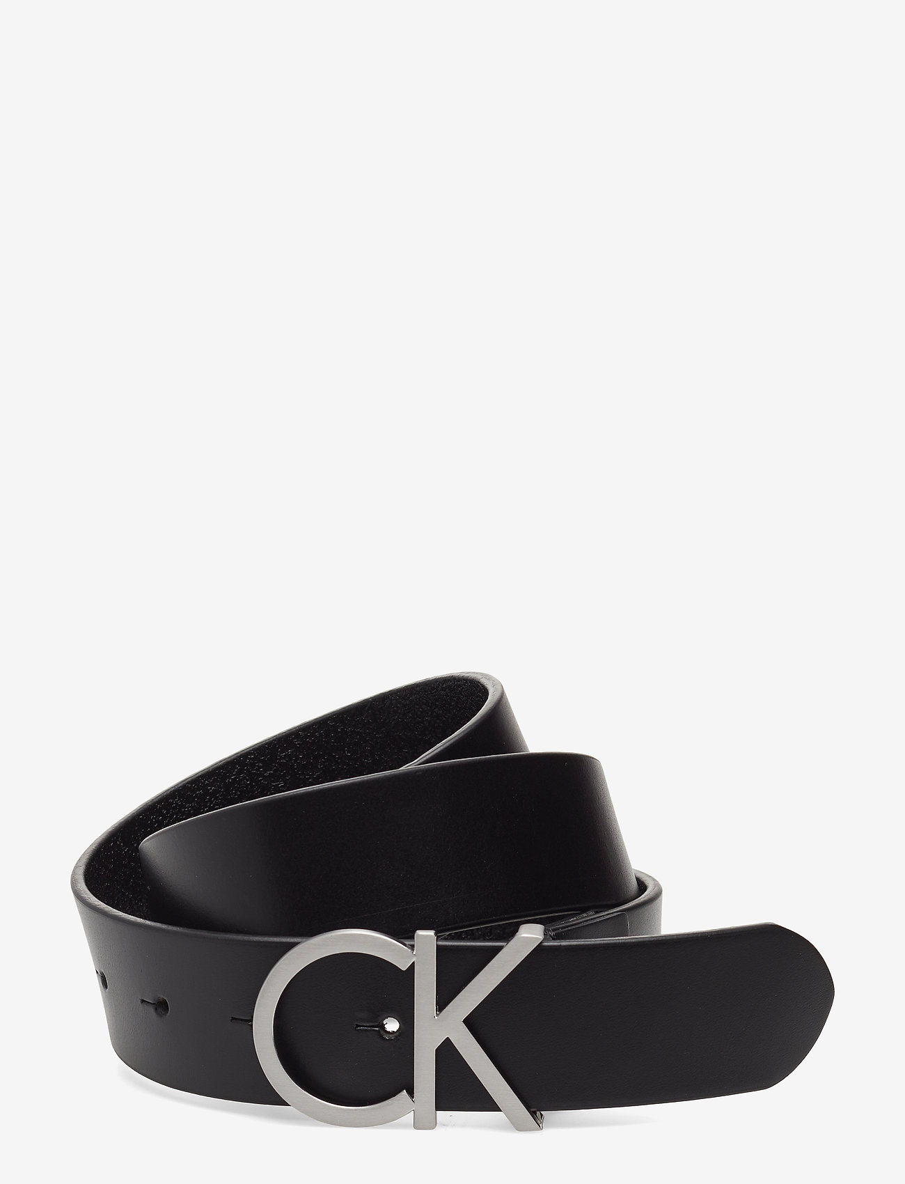 Calvin Klein - CK ADJ.LOGO BELT 3.5CM - riemen - black - 0