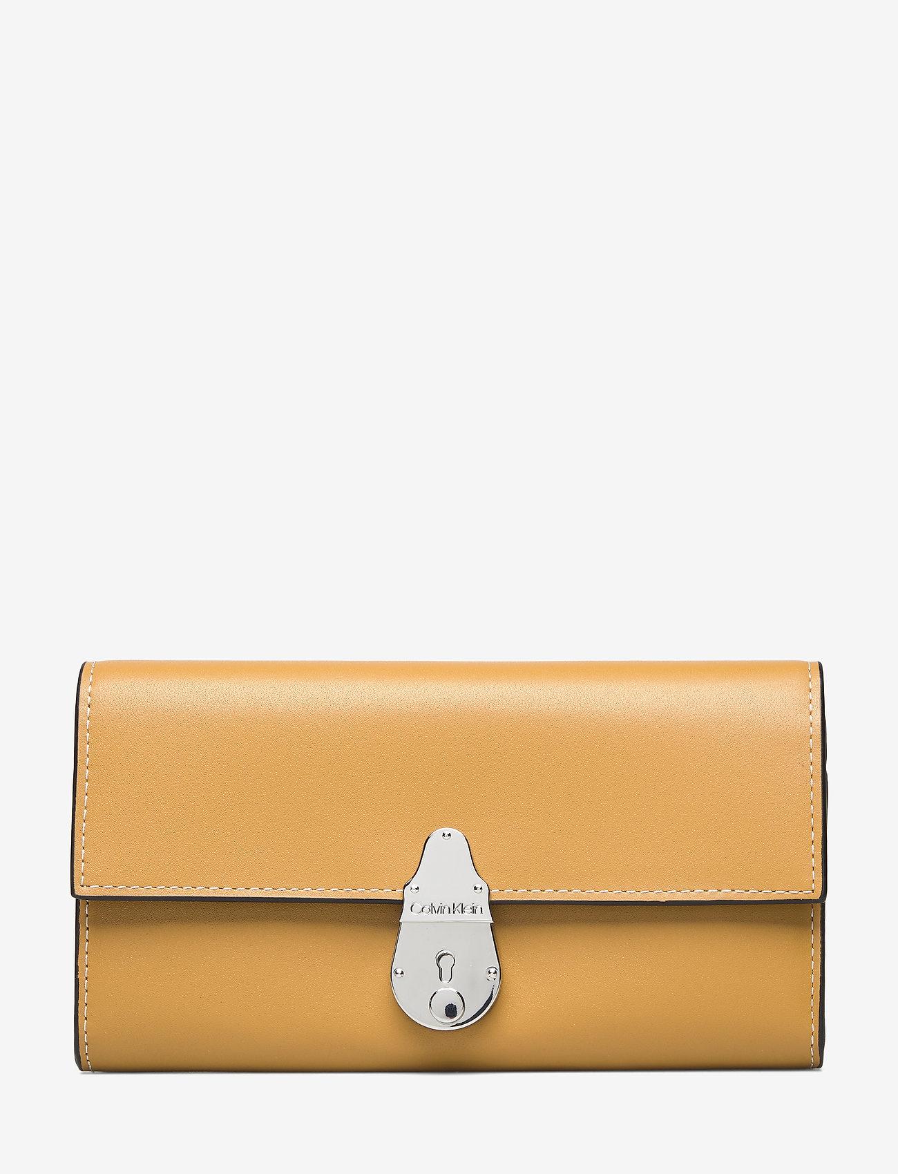 Calvin Klein - LOCK TRIFOLD - beurzen - barley - 0