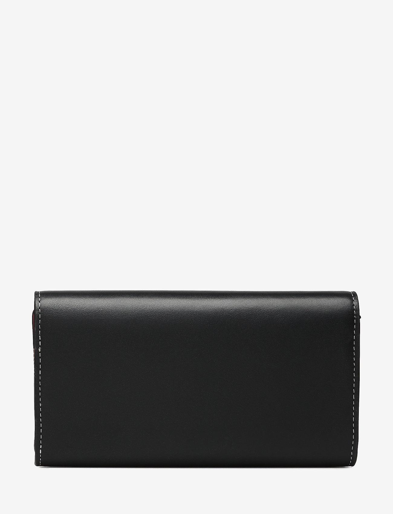 Calvin Klein - LOCK TRIFOLD - beurzen - black - 1