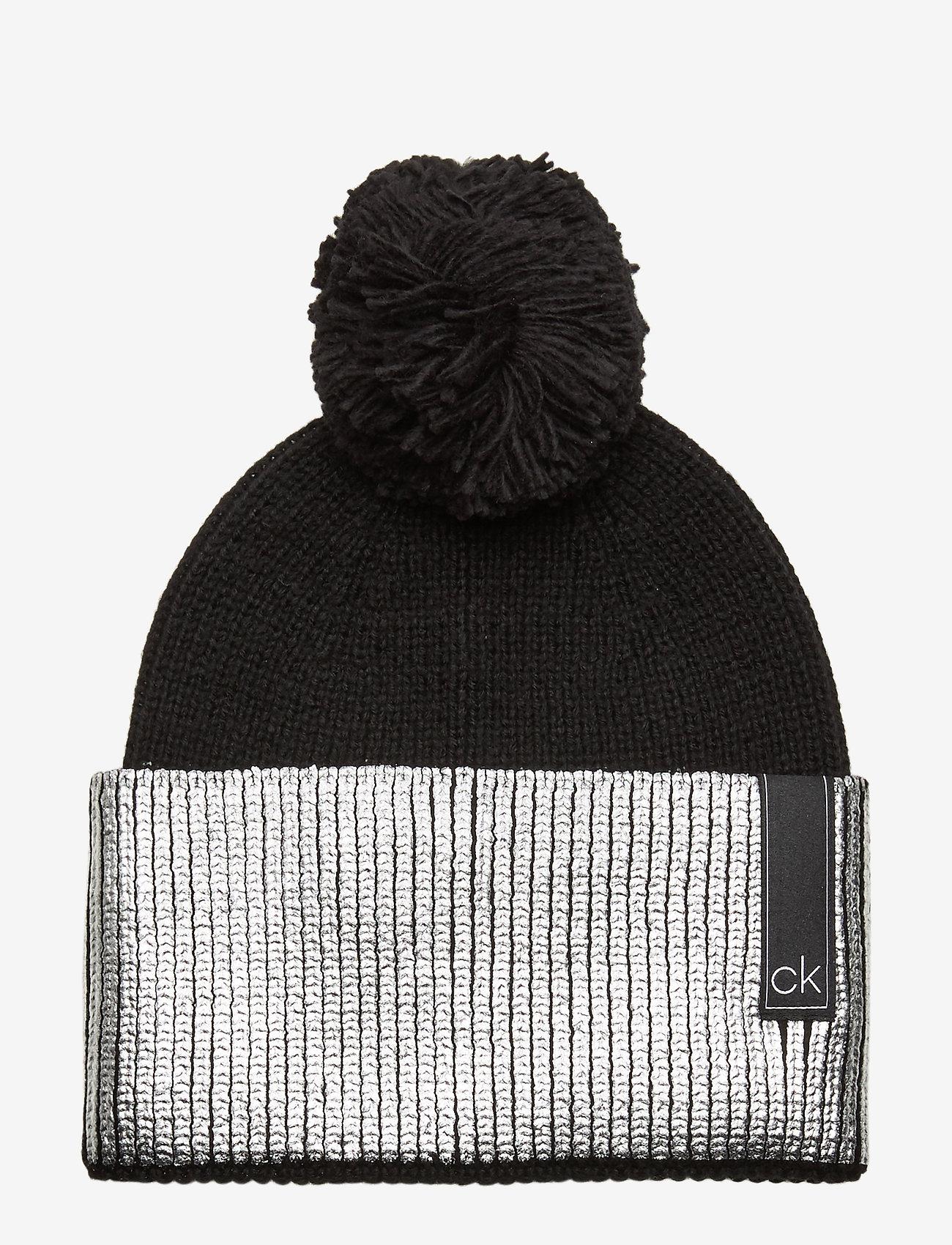 Calvin Klein - LAMINA BEANIE - huer - black