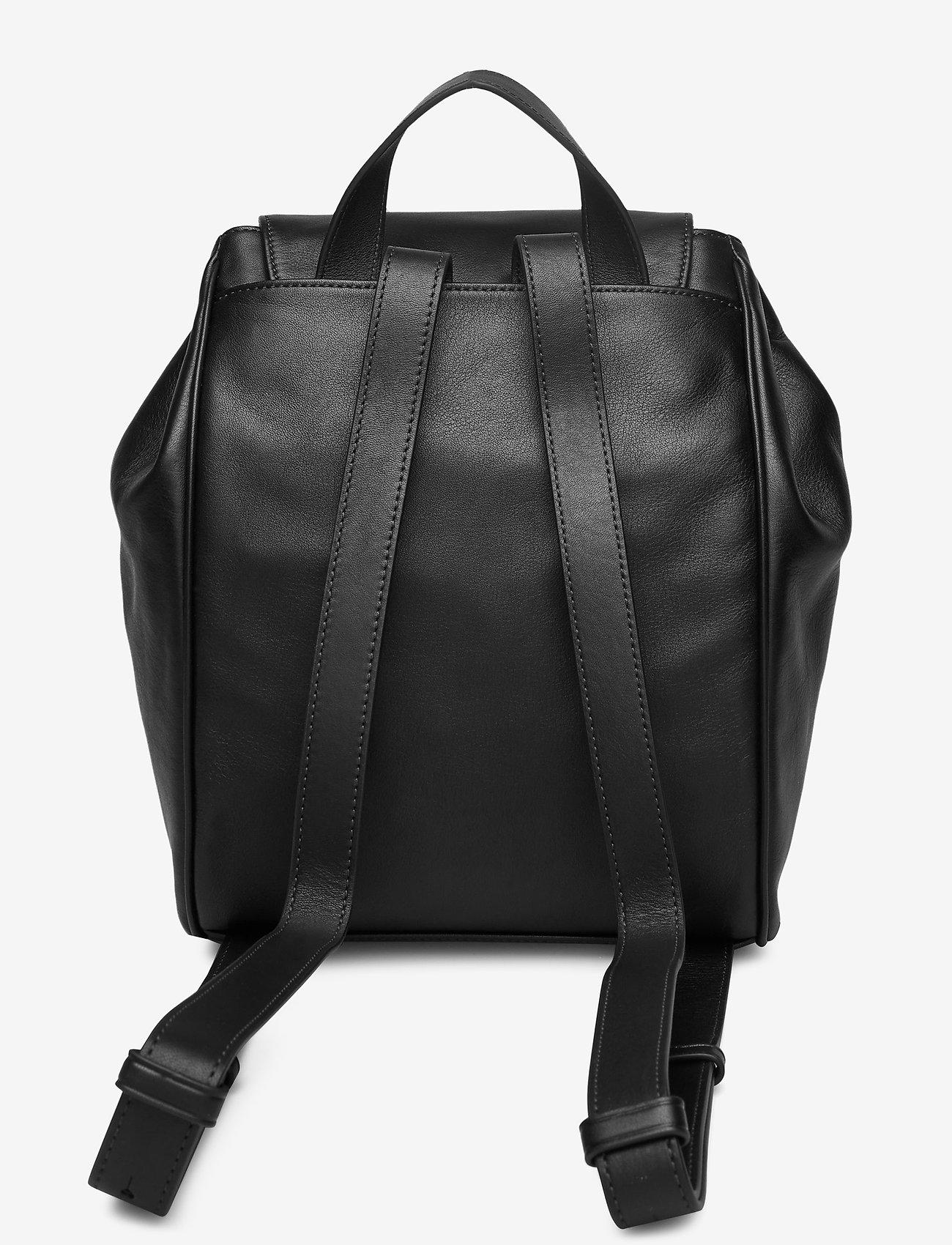 Drawstring Bp W/flap (Black) - Calvin Klein tRjrjc