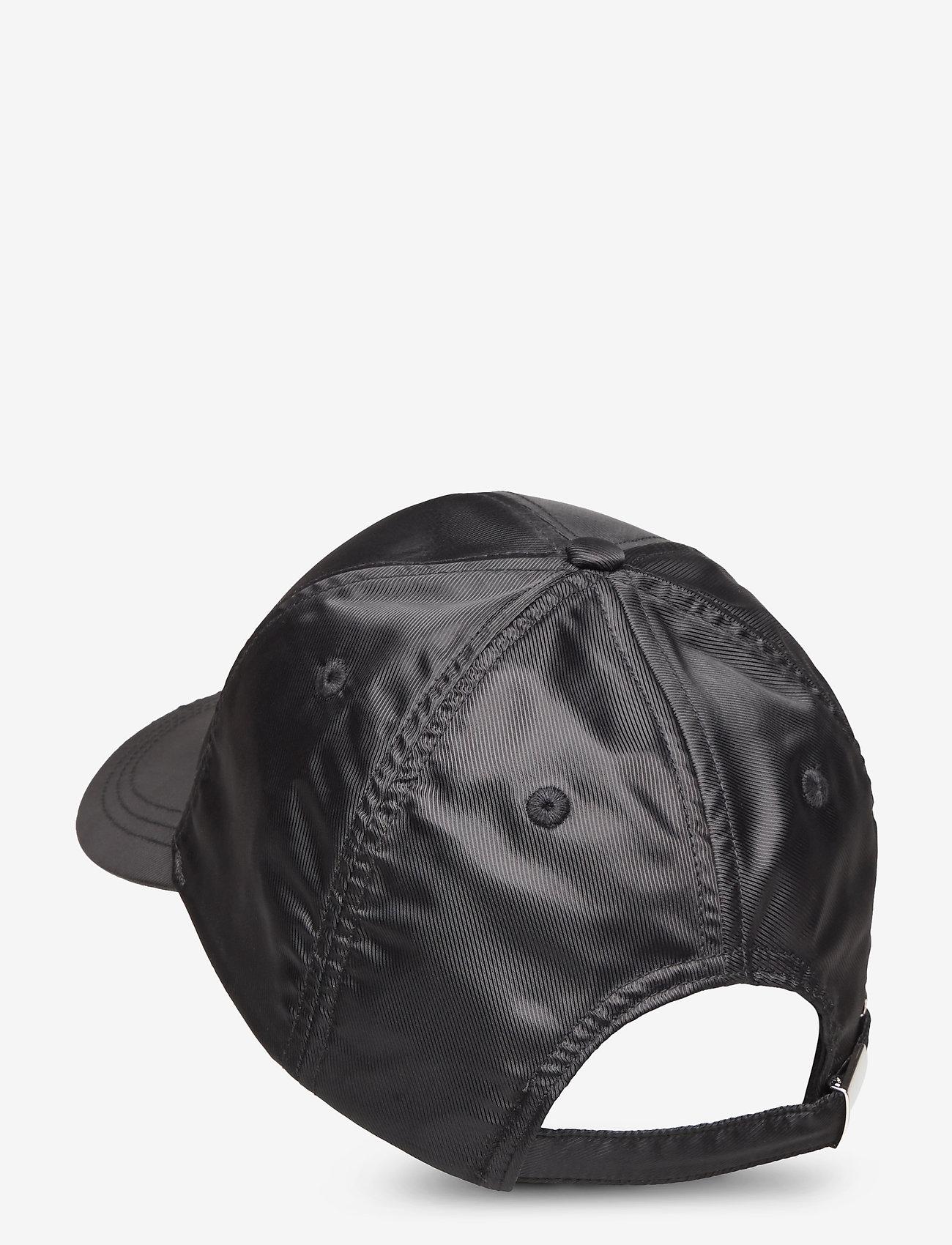 Calvin Klein - EMBROIDERY LOGO SATIN BB CAP - caps - black - 1
