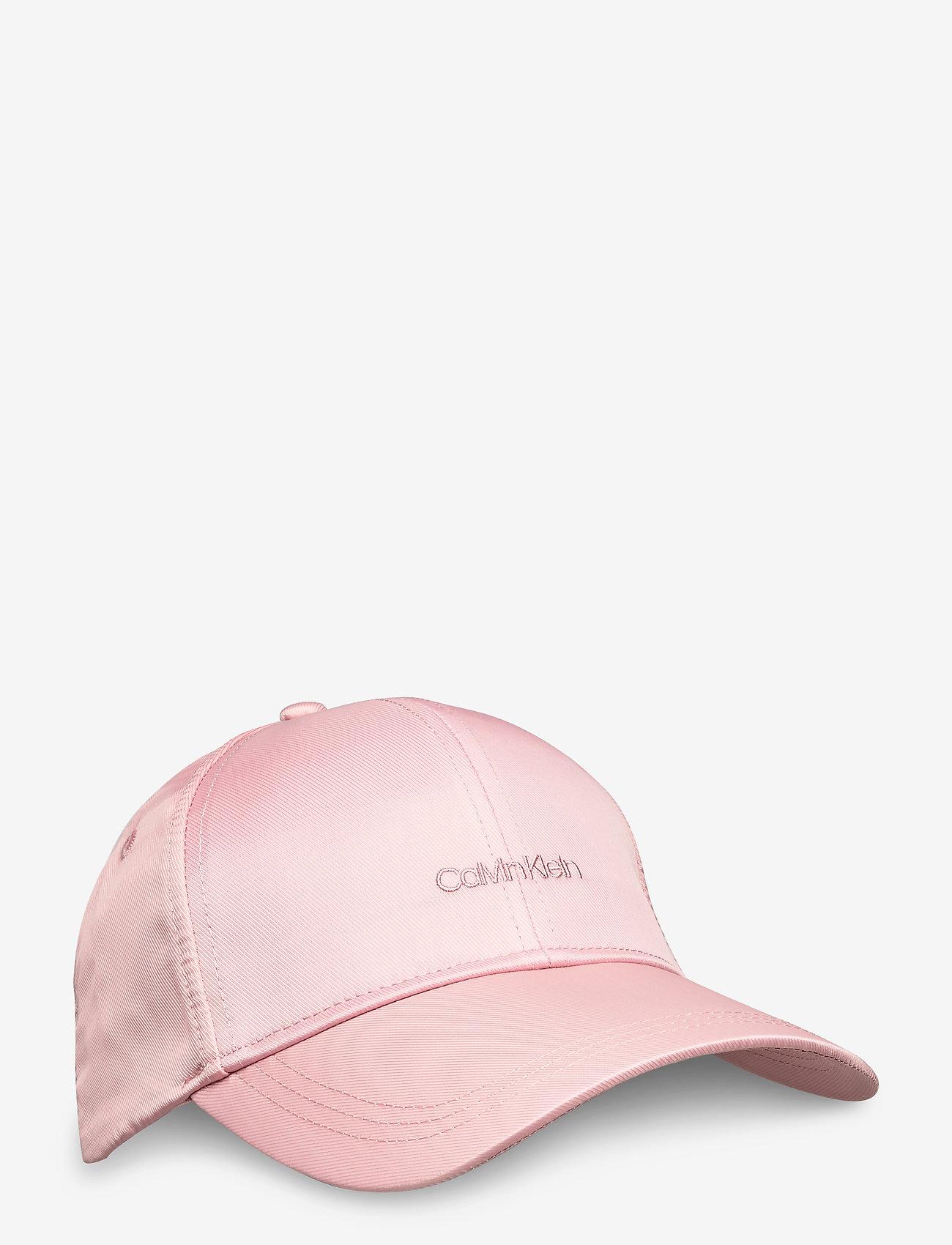 Calvin Klein - EMBROIDERY LOGO SATIN BB CAP - caps - silver pink - 0
