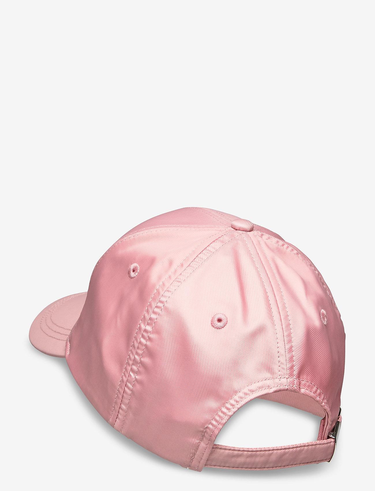 Calvin Klein - EMBROIDERY LOGO SATIN BB CAP - caps - silver pink - 1