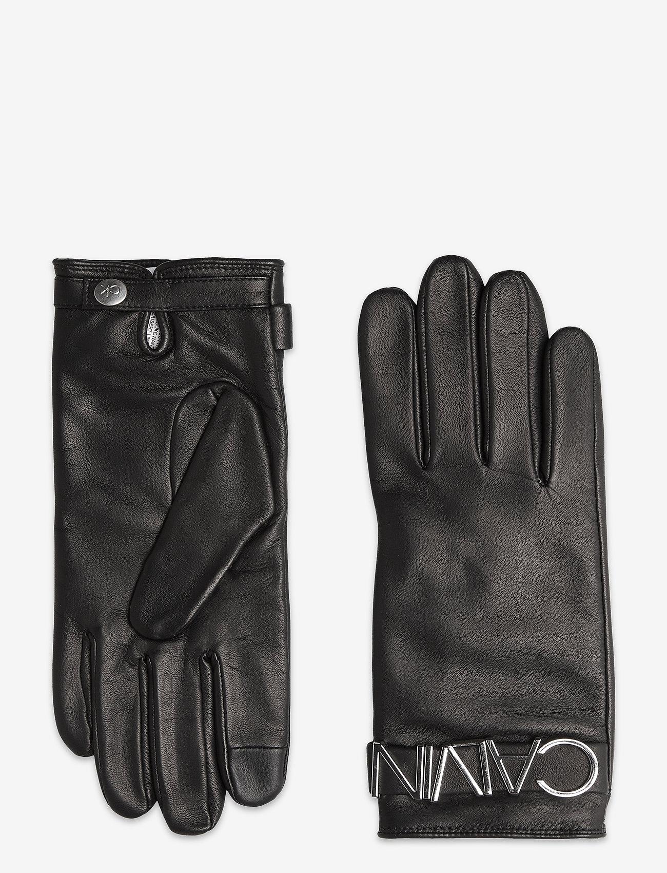 Calvin Klein - GLOVES L - handschoenen - black - 0