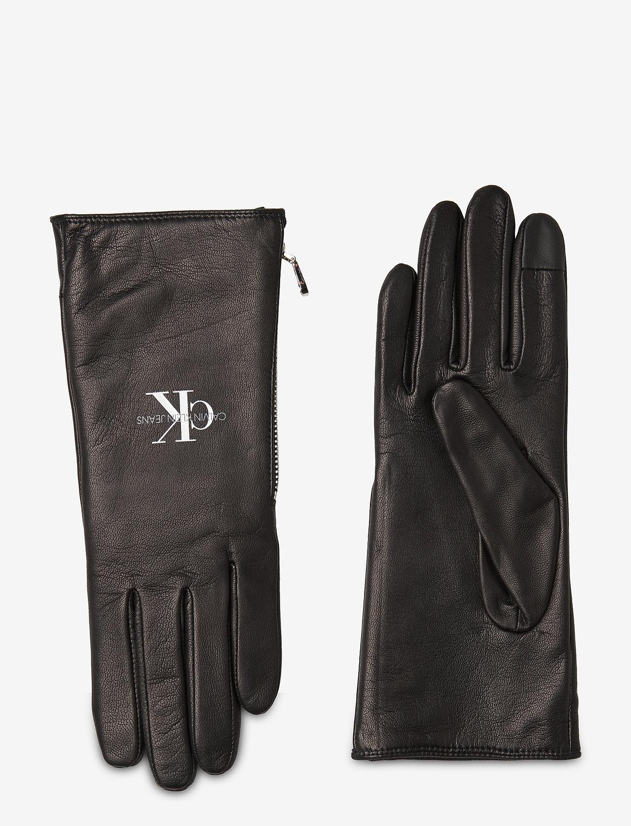 Calvin Klein - GLOVES LTH - handschoenen - black advisory - 0