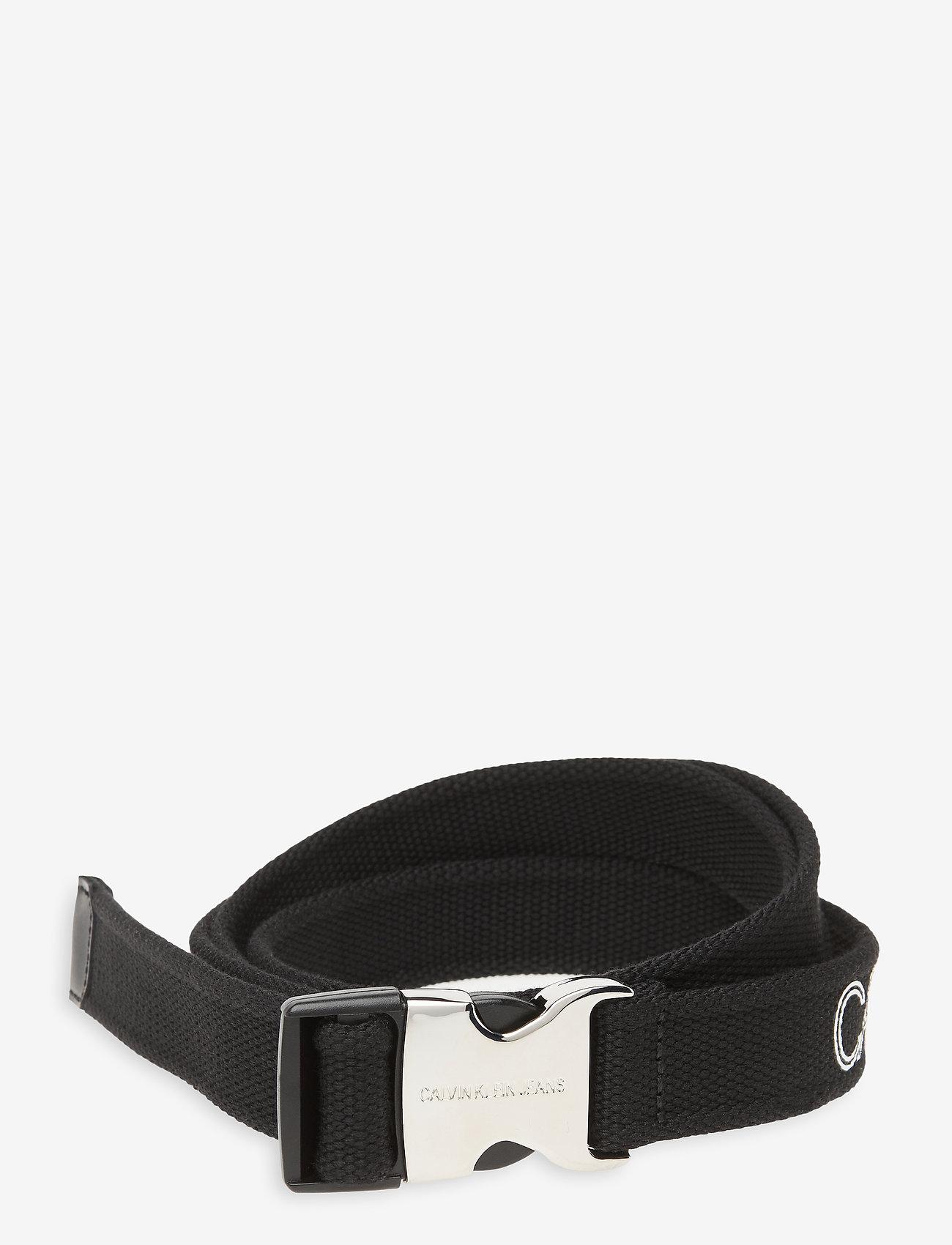 Calvin Klein - CLIP TAPE 30MM - riemen - black - 0