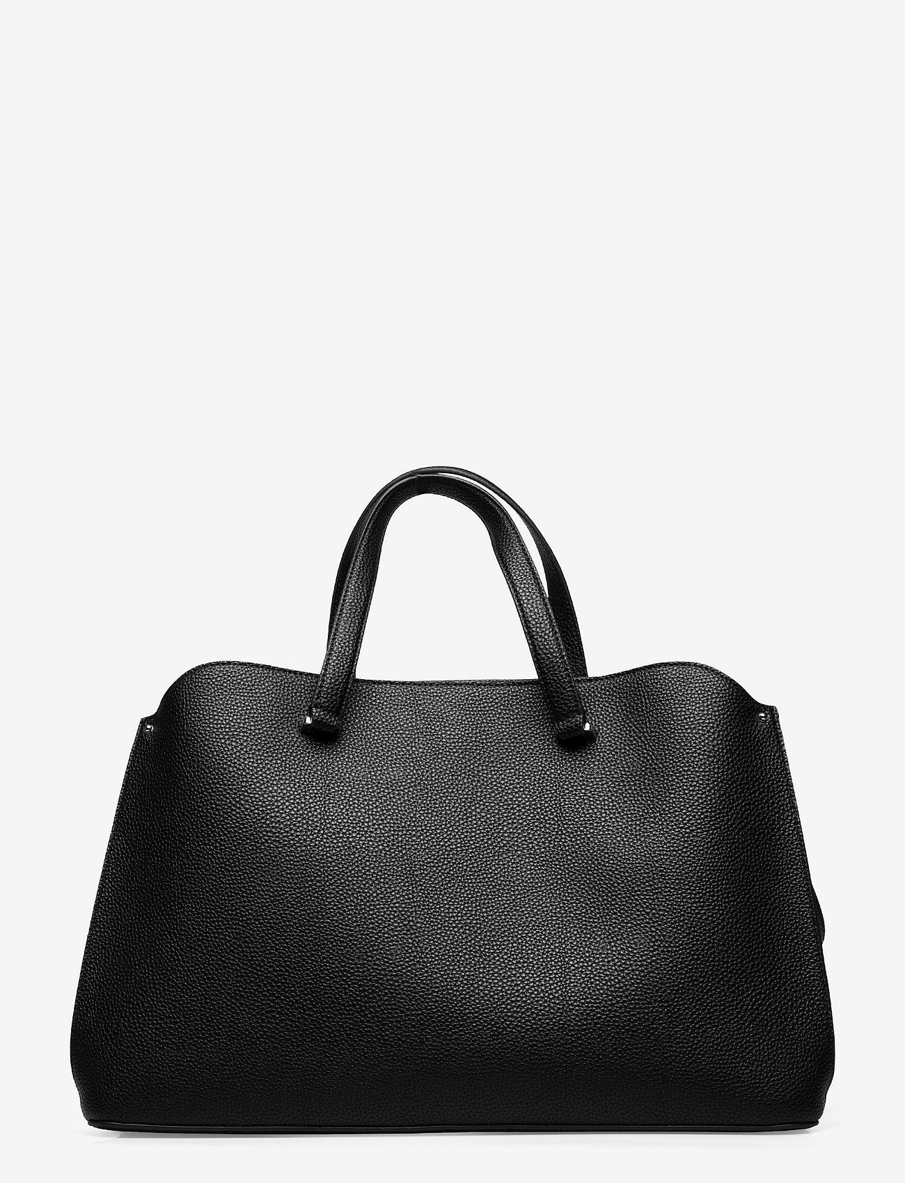 Calvin Klein - TOTE LG - handväskor - ck black - 1