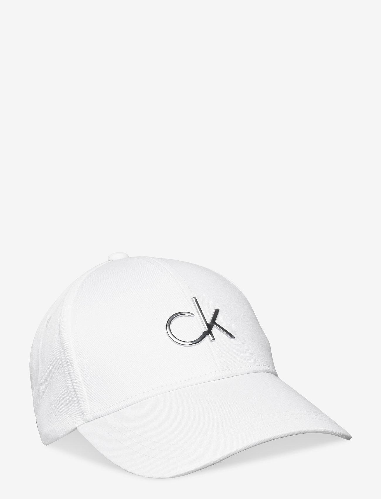 Calvin Klein - RE-LOCK BB CAP - kasketter - ck white - 0
