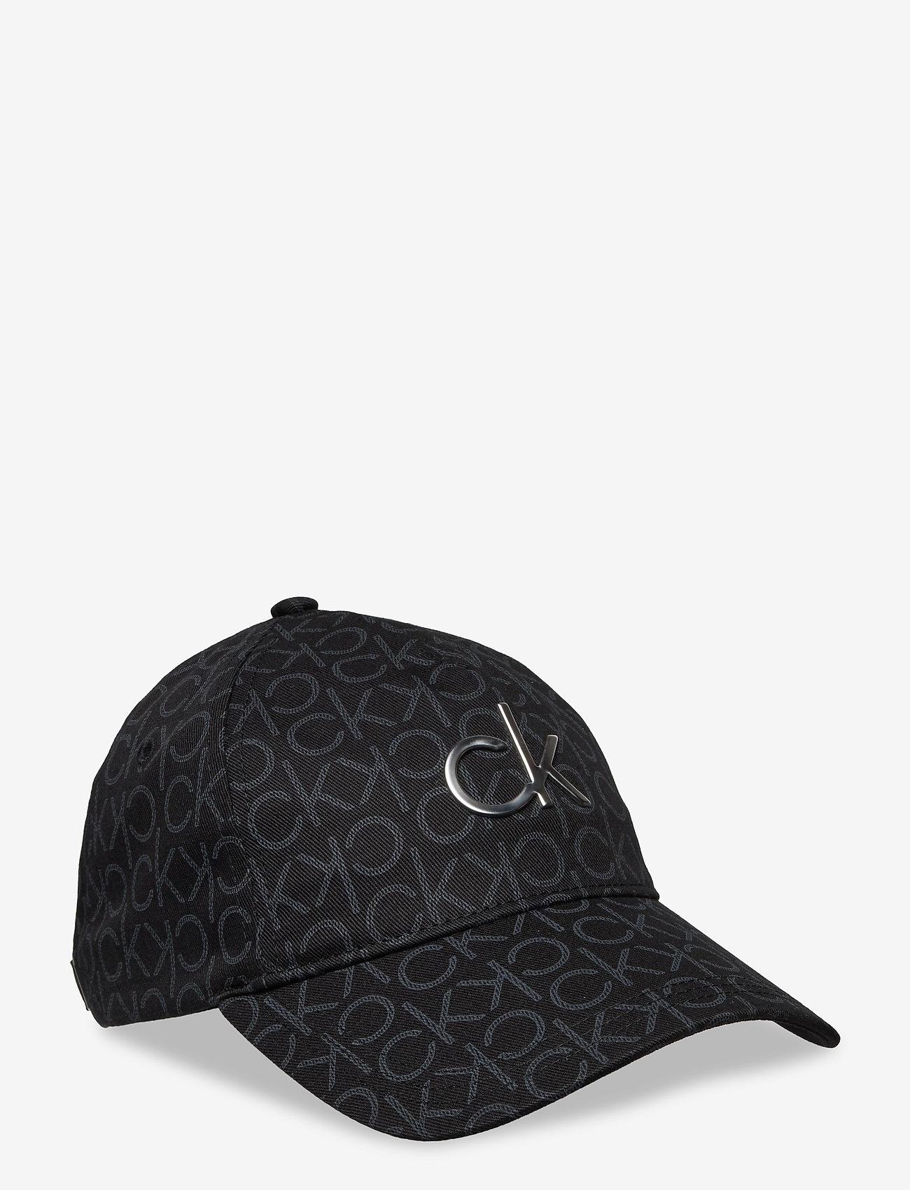 Calvin Klein - RE-LOCK BB CAP MONO - kasketter - black mono mix - 0