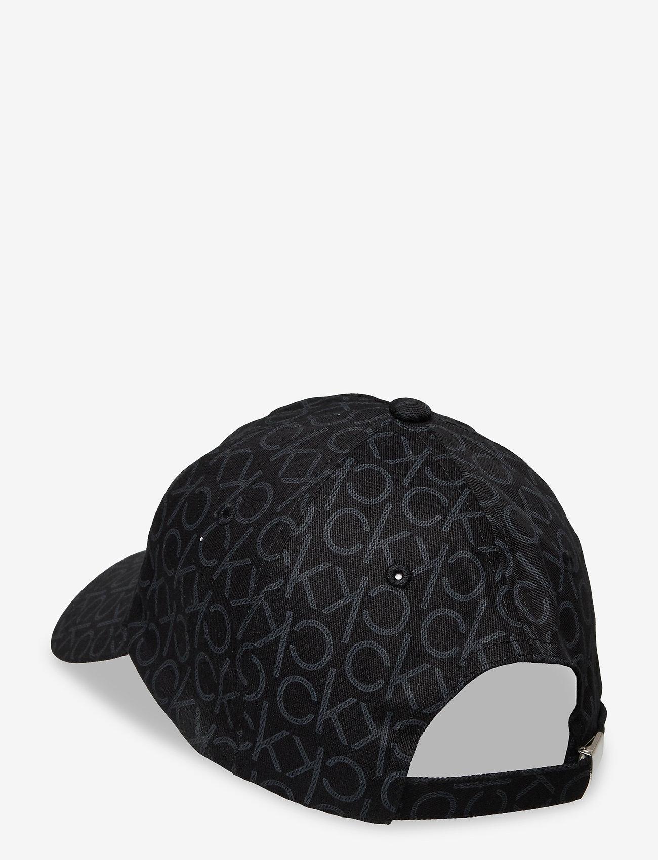 Calvin Klein - RE-LOCK BB CAP MONO - kasketter - black mono mix - 1