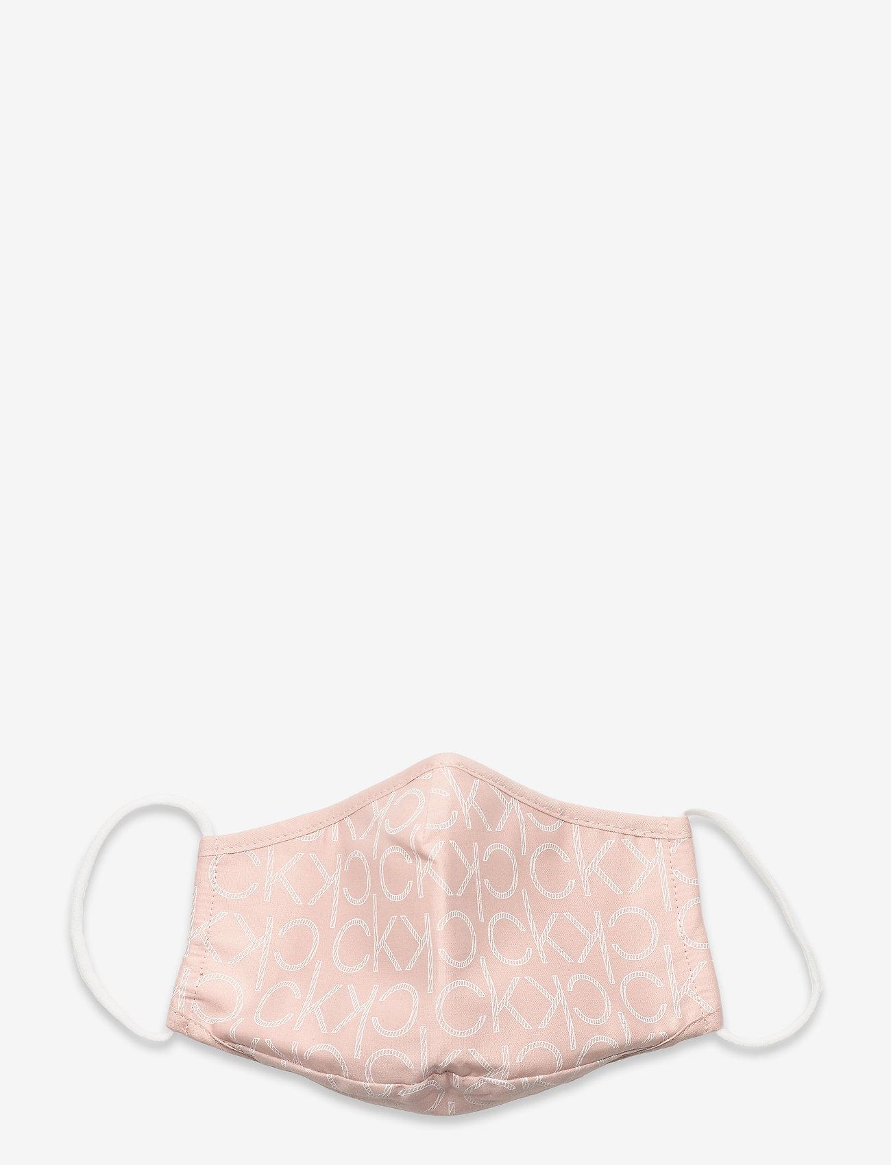 Calvin Klein - FACE COVER SINGLE MONO - gezicht maskers - pink mono - 0