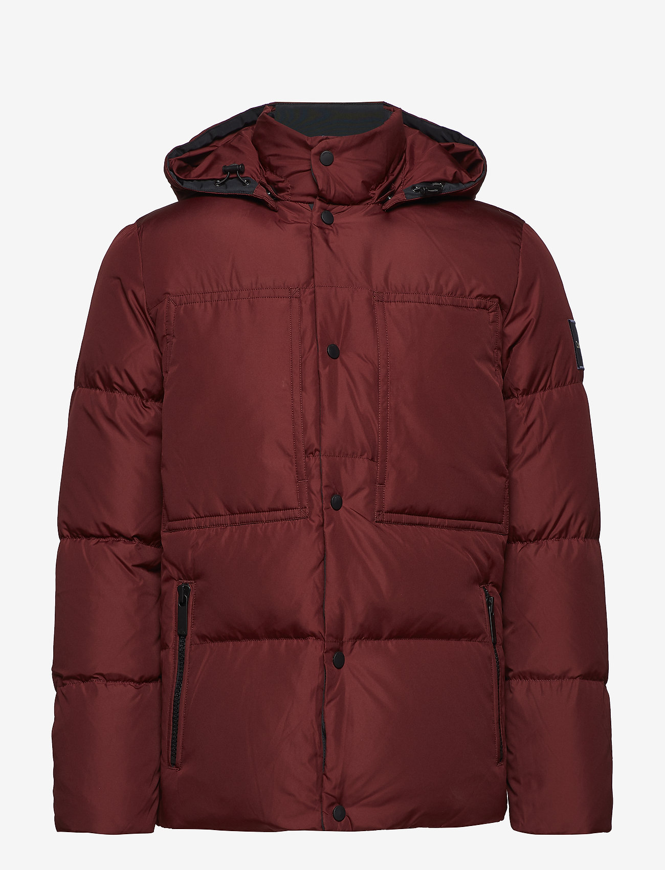 Calvin Klein - LIGHT DOWN MID LENGT - padded jackets - iron red