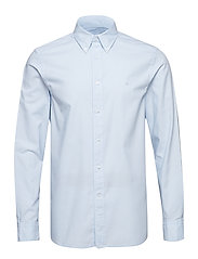 GALDO_BD WASHED OXFORD - CERULEAN