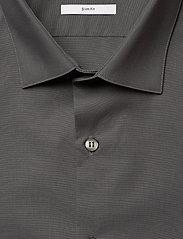 Calvin Klein - 2PLY POPLIN STRETCH SLIM SHIRT - basic shirts - charcoal - 3