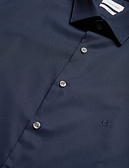 Calvin Klein - 2PLY POPLIN STRETCH SLIM SHIRT - basic shirts - midnight blue - 2