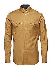 WESTERN SOLID TWILL, - DULL GOLD