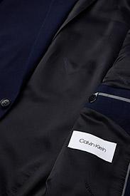 Calvin Klein - STRETCH WOOL SLIM SU - enkelknäppta kavajer - ink blue - 4