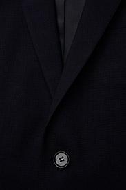 Calvin Klein - STRETCH WOOL SLIM SUIT BLAZER - single breasted blazers - midnight navy - 2