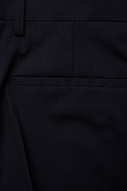 Calvin Klein - STRETCH WOOL SLIM SUIT PANT - suit trousers - midnight navy - 4