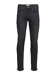SLIM STRETCH DENIM M - MELROSE WASHED BLACK