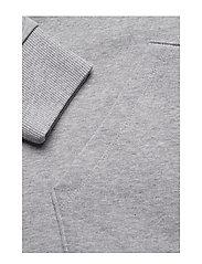 Calvin Klein - COTTON LOGO  HOODIE - hoodies - mid grey heather - 3