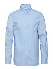 BUTTON DOWN WASHED O - LIGHT BLUE