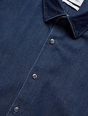 Calvin Klein - DENIM WASHED SLIM SH - basic overhemden - blue - 2