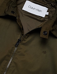 Calvin Klein - NYLON HARRINGTON JAC - light jackets - ck dark olive - 3