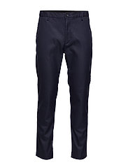 TAPERED ELASTIC TWILL PANT - CALVIN NAVY