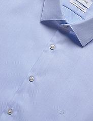 Calvin Klein - STRETCH COLLAR STRUC - basic shirts - blue - 2