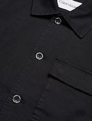 Calvin Klein - GMT WASHED CTN WORKW - light jackets - calvin black - 3