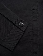 Calvin Klein - GMT WASHED CTN WORKW - light jackets - calvin black - 4
