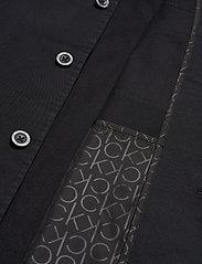 Calvin Klein - GMT WASHED CTN WORKW - light jackets - calvin black - 5