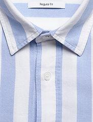 Calvin Klein - COTTON OXFORD STRIPE - oxford overhemden - bold stripe - white / vista bl - 2
