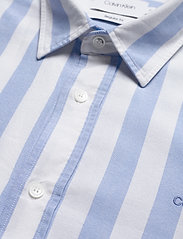 Calvin Klein - COTTON OXFORD STRIPE - oxford overhemden - bold stripe - white / vista bl - 3